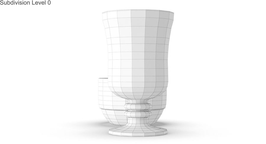 Glass Hot Drink Punch royalty-free 3d model - Preview no. 32