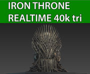 Iron Throne 3d model