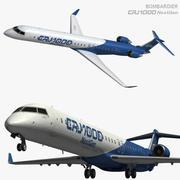 CRJ1000 NextGen 3d model