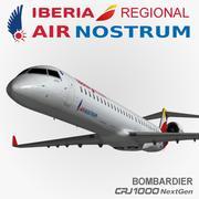 CRJ1000 Air Nostrum 3d model