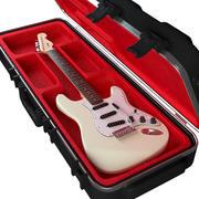 Electric Guitar in Case 3d model