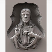 Jesus Christ Sculpture for CNC 3d model