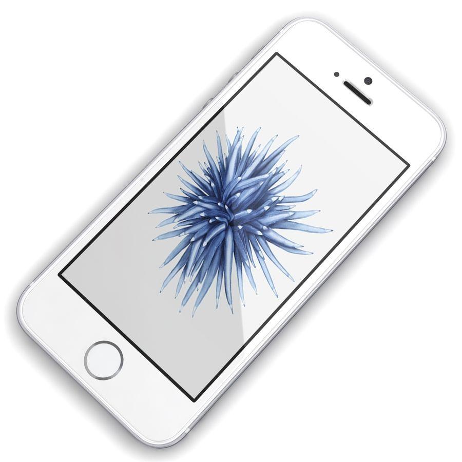 Apple iPhone SE Gümüş royalty-free 3d model - Preview no. 7