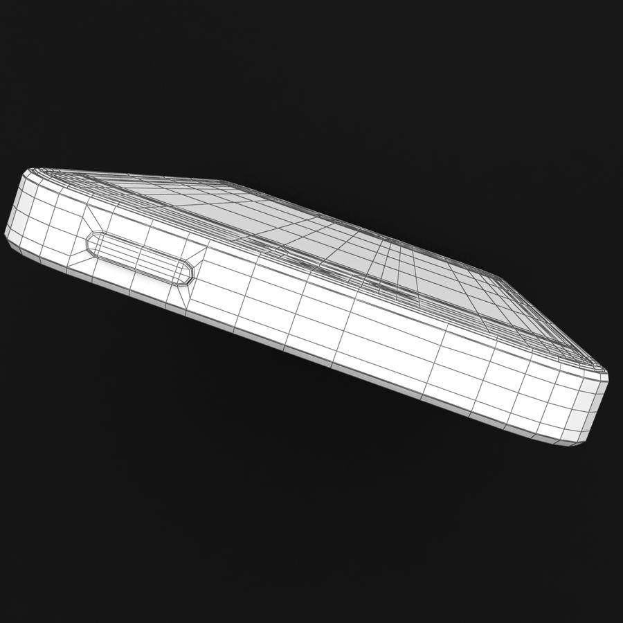 Apple iPhone SE Gümüş royalty-free 3d model - Preview no. 38