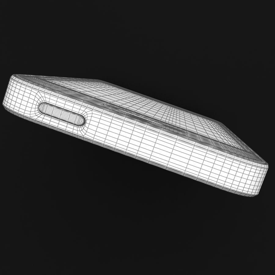 Apple iPhone SE Gümüş royalty-free 3d model - Preview no. 37