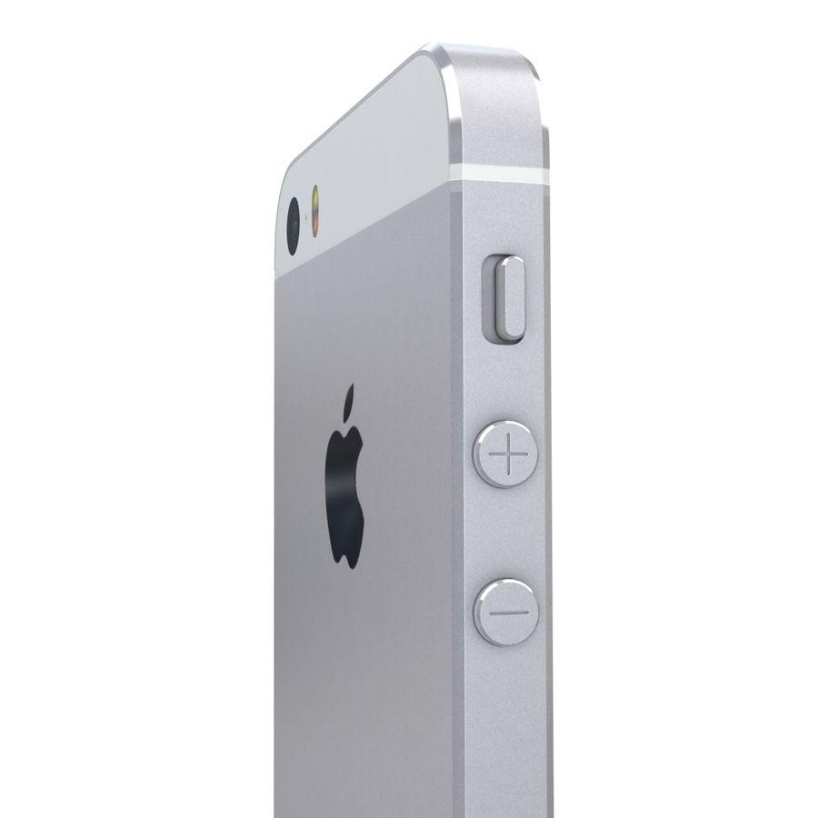Apple iPhone SE Gümüş royalty-free 3d model - Preview no. 18