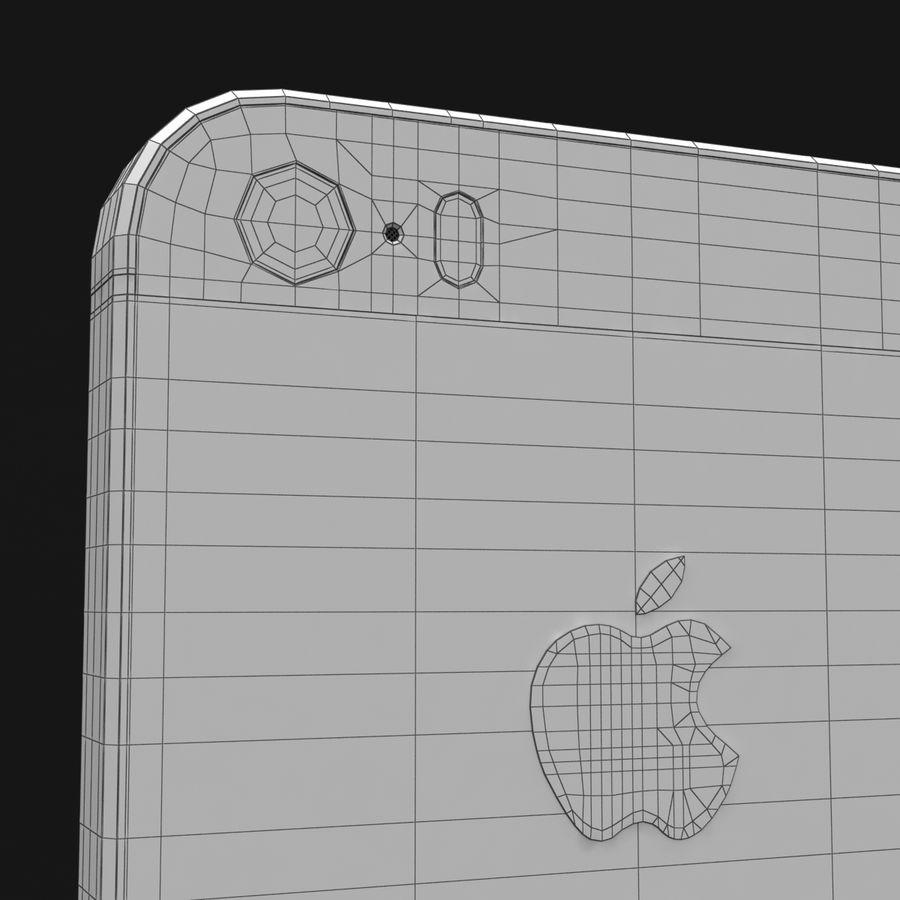 Apple iPhone SE Gümüş royalty-free 3d model - Preview no. 36
