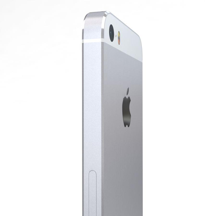 Apple iPhone SE Gümüş royalty-free 3d model - Preview no. 17