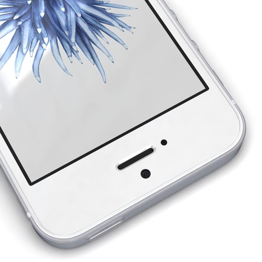 Apple iPhone SE Gümüş royalty-free 3d model - Preview no. 10
