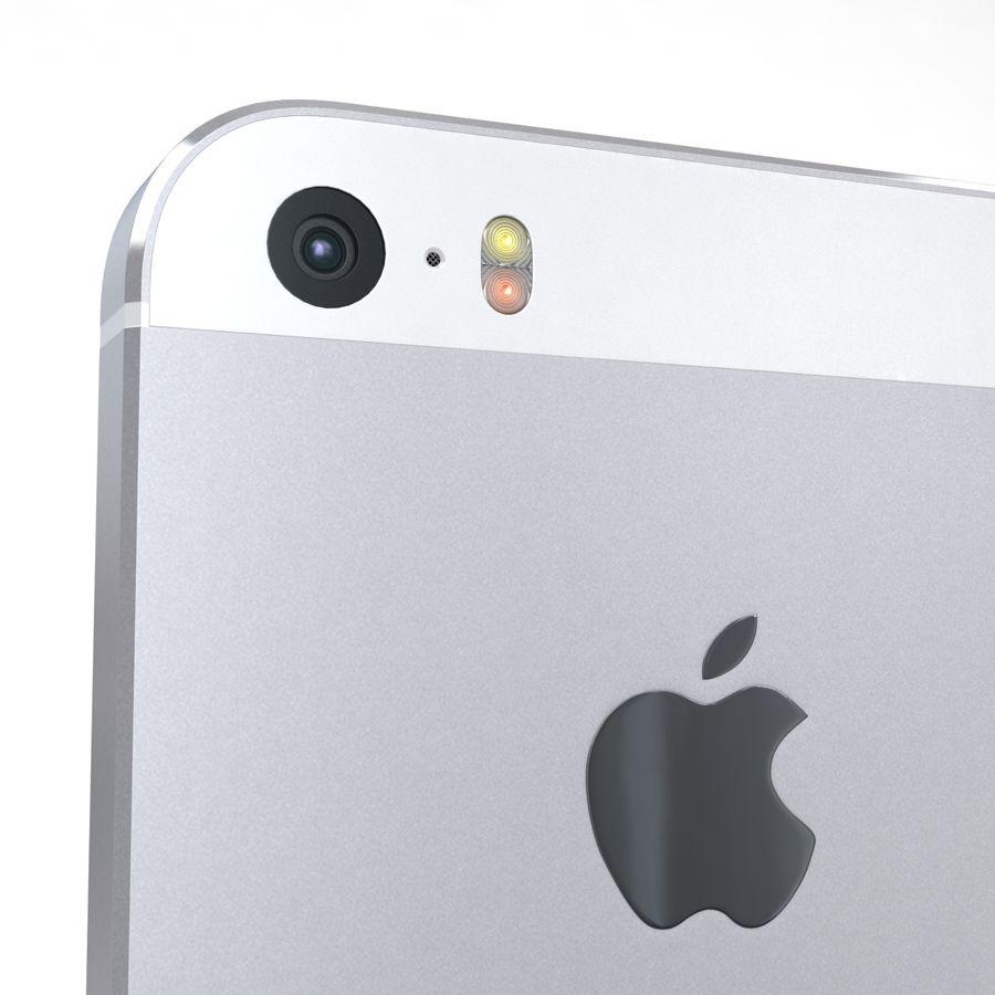 Apple iPhone SE Gümüş royalty-free 3d model - Preview no. 19