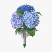 Hydrangeas - Bouquet 3d model