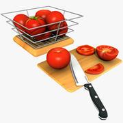 Tomatoes 3d model