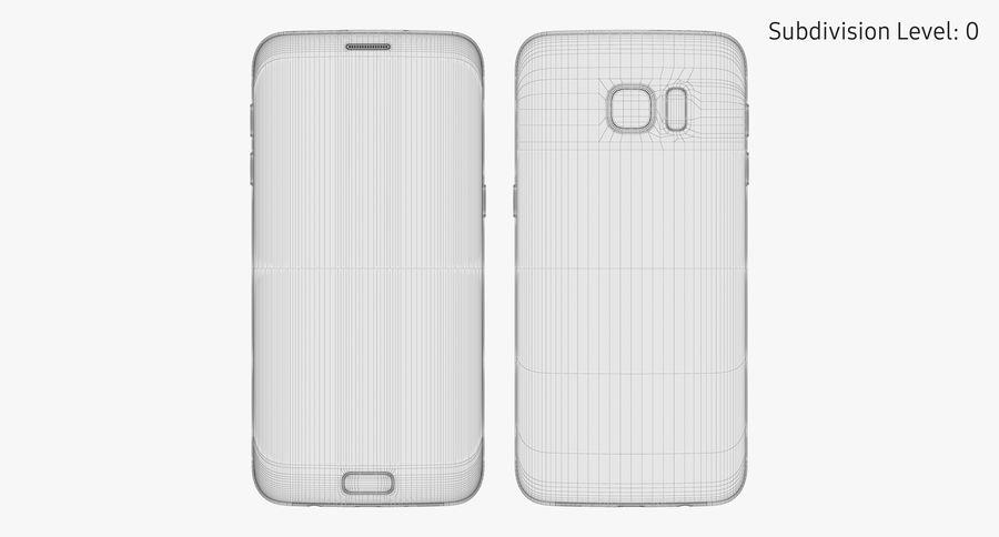 Samsung Galaxy S7 Edge White 3d Model 49 Max Fbx Obj Free3d