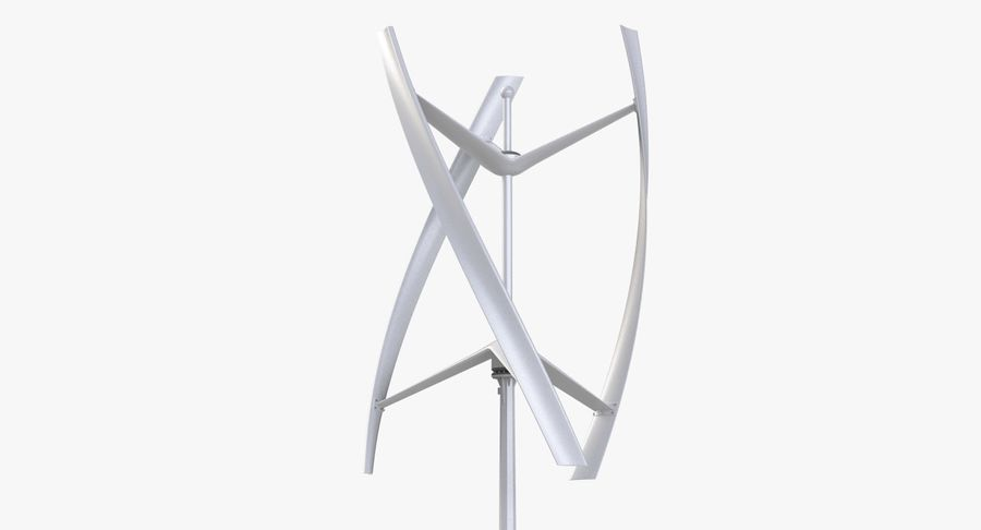 Wind Generator 2 royalty-free 3d model - Preview no. 10