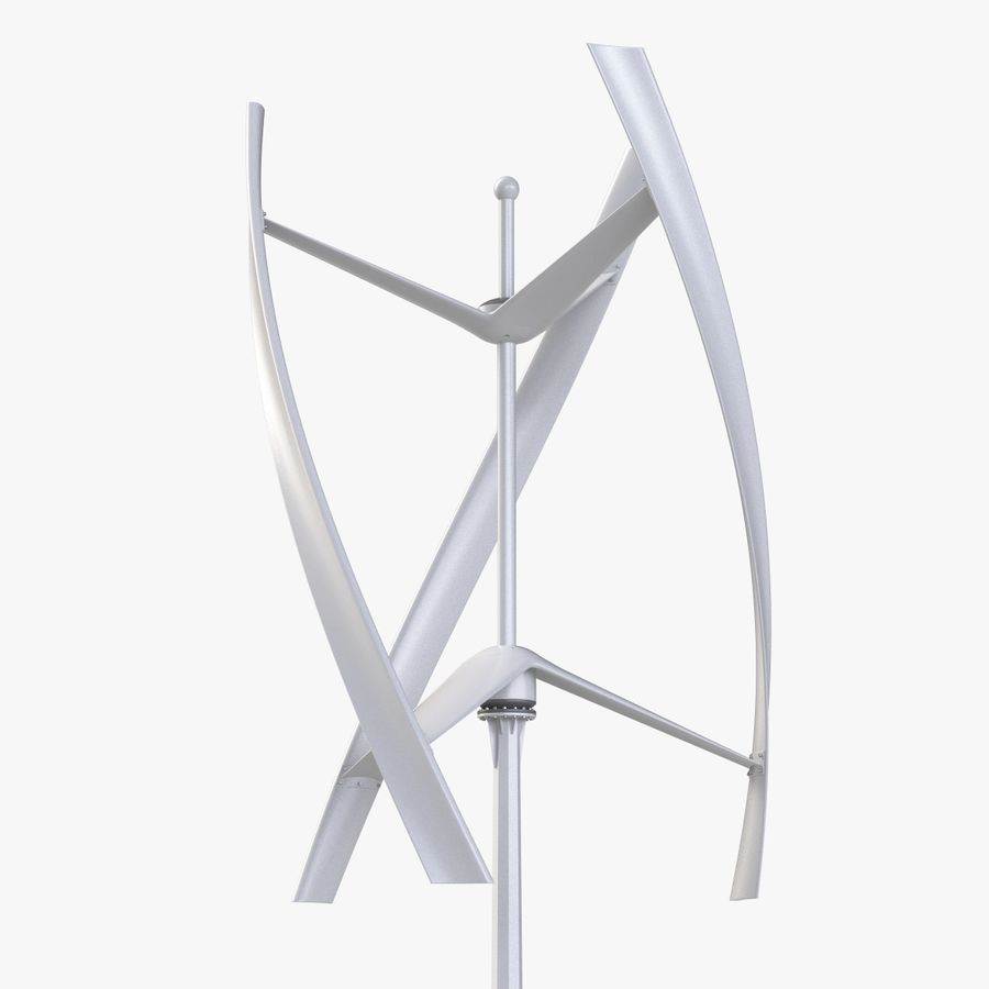 Wind Generator 2 royalty-free 3d model - Preview no. 1