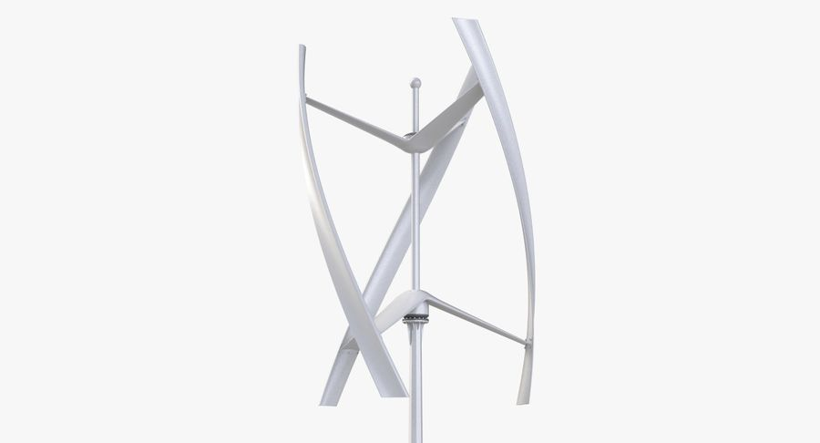 Wind Generator 2 royalty-free 3d model - Preview no. 2