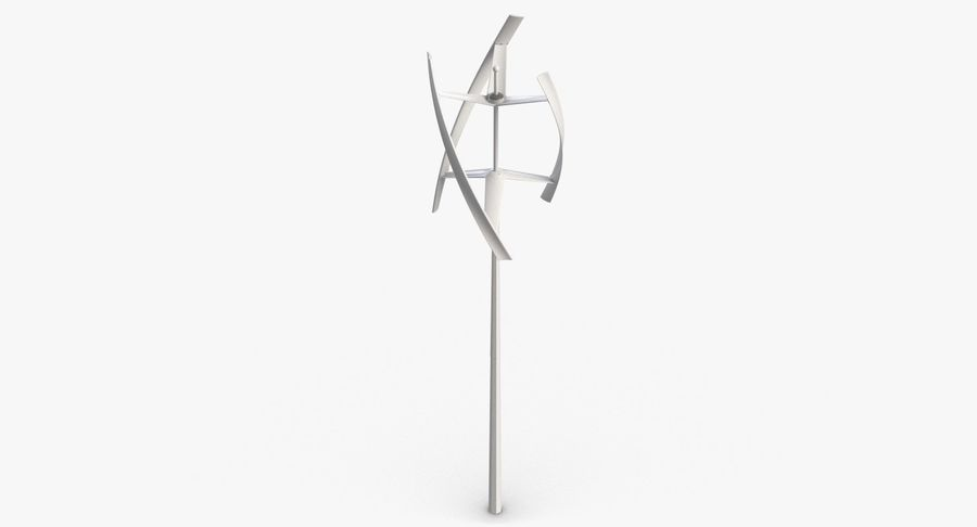 Wind Generator 2 royalty-free 3d model - Preview no. 7