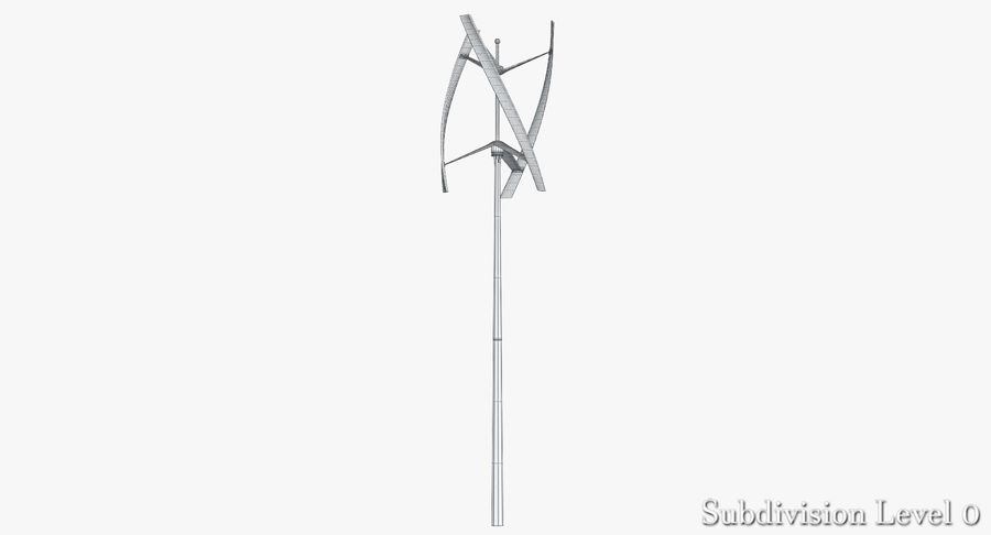 Wind Generator 2 royalty-free 3d model - Preview no. 5