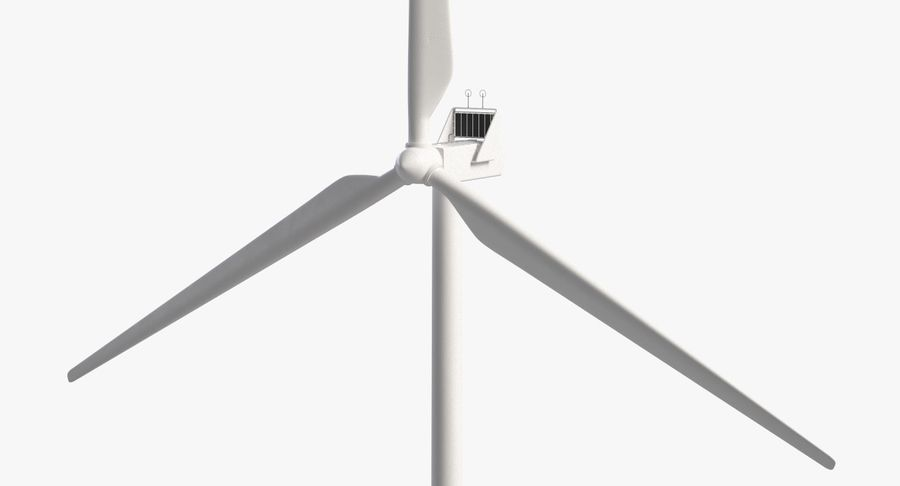 Windgenerator 1 royalty-free 3d model - Preview no. 10