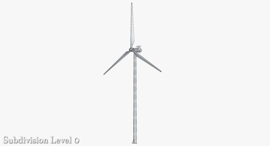 Windgenerator 1 royalty-free 3d model - Preview no. 5