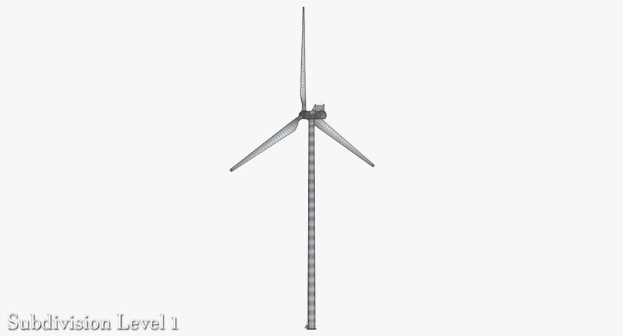 Windgenerator 1 royalty-free 3d model - Preview no. 9