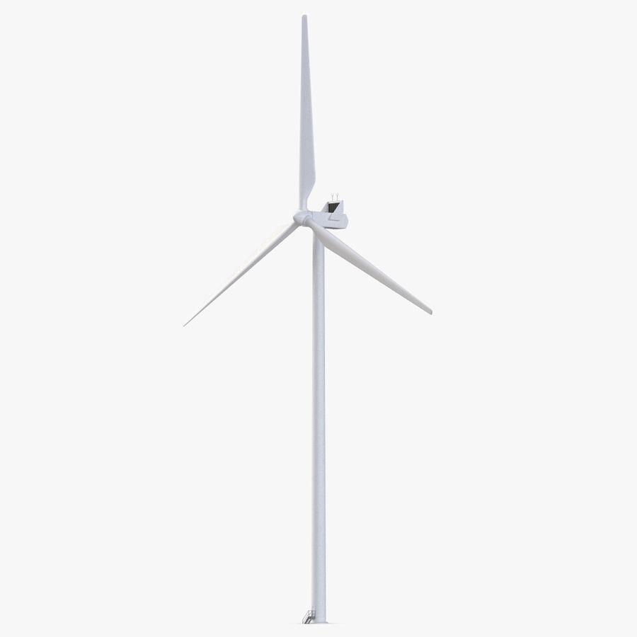Windgenerator 1 royalty-free 3d model - Preview no. 2