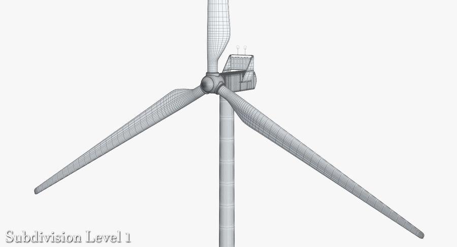 Windgenerator 1 royalty-free 3d model - Preview no. 12