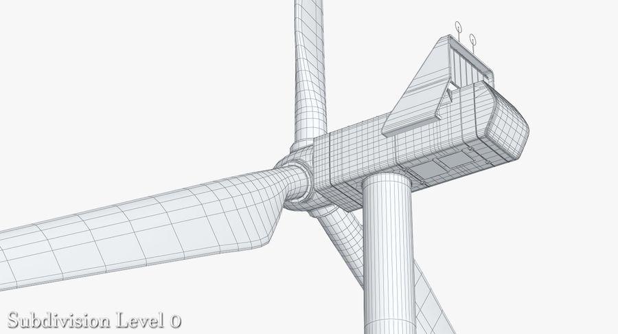 Windgenerator 1 royalty-free 3d model - Preview no. 17