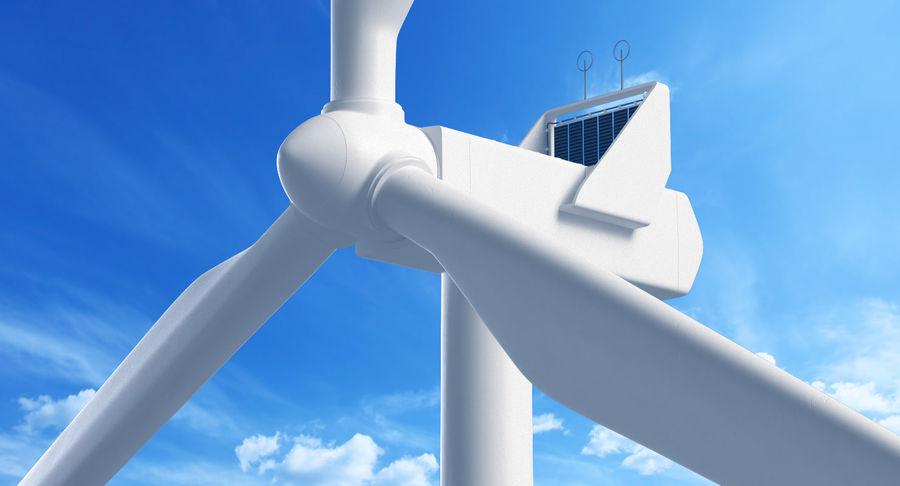 Windgenerator 1 royalty-free 3d model - Preview no. 1