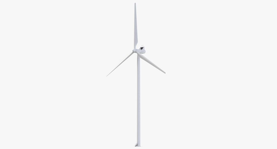 Windgenerator 1 royalty-free 3d model - Preview no. 3