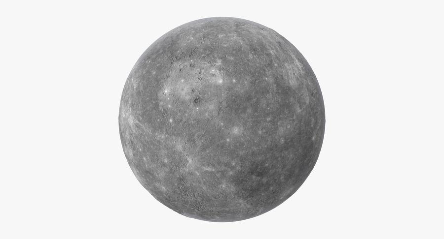 Mercury royalty-free 3d model - Preview no. 2
