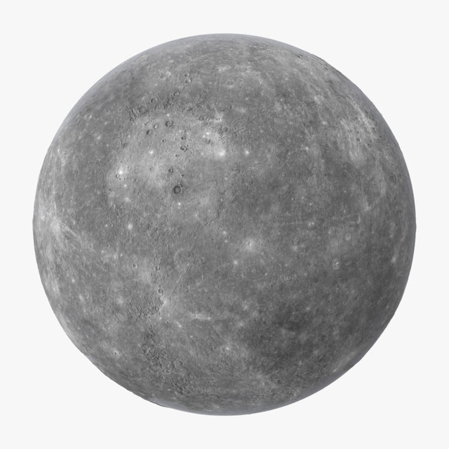 Mercury royalty-free 3d model - Preview no. 1