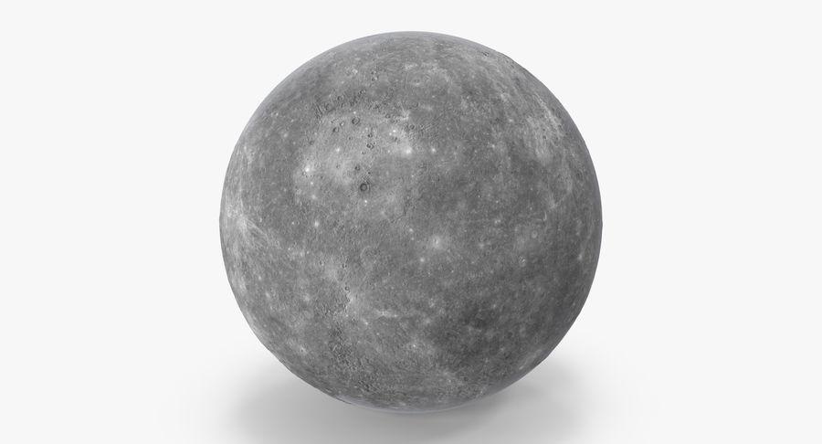 Mercury royalty-free 3d model - Preview no. 3