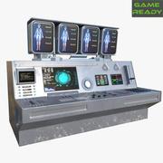 コントロールパネル 3d model