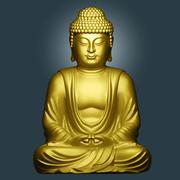 Buddha 01 3d model