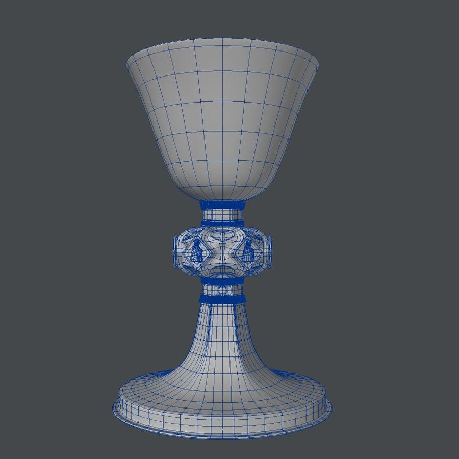 중세 성배 royalty-free 3d model - Preview no. 5