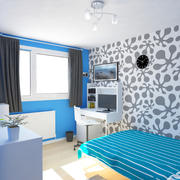 Küçük Yatak Odası Sahnesi 4 3d model
