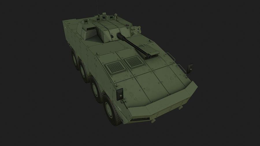 AMV Patria ,KTO Rosomak royalty-free 3d model - Preview no. 5