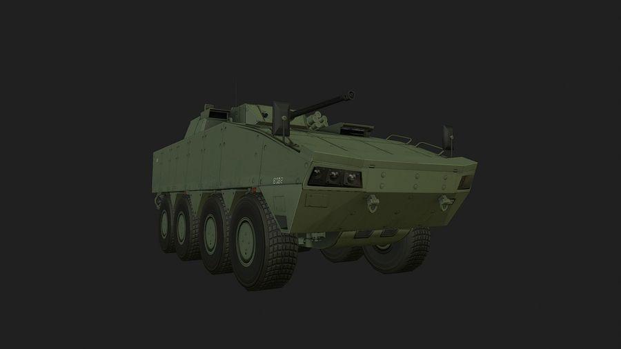 AMV Patria ,KTO Rosomak royalty-free 3d model - Preview no. 4