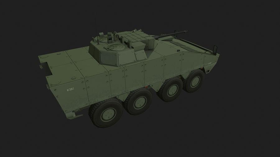 AMV Patria ,KTO Rosomak royalty-free 3d model - Preview no. 3