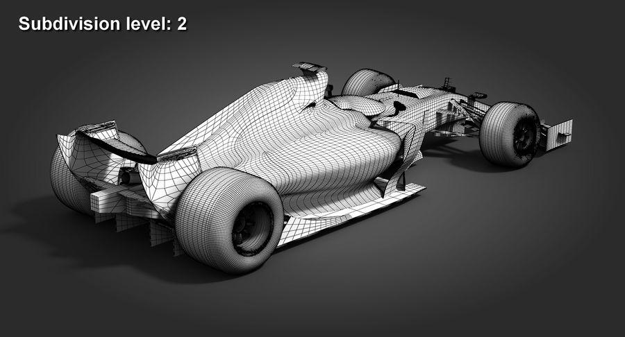 Formula 1 Future Concept royalty-free 3d model - Preview no. 12