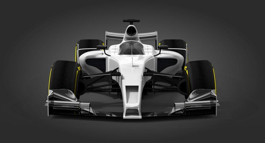 Formula 1 Future Concept royalty-free 3d model - Preview no. 7