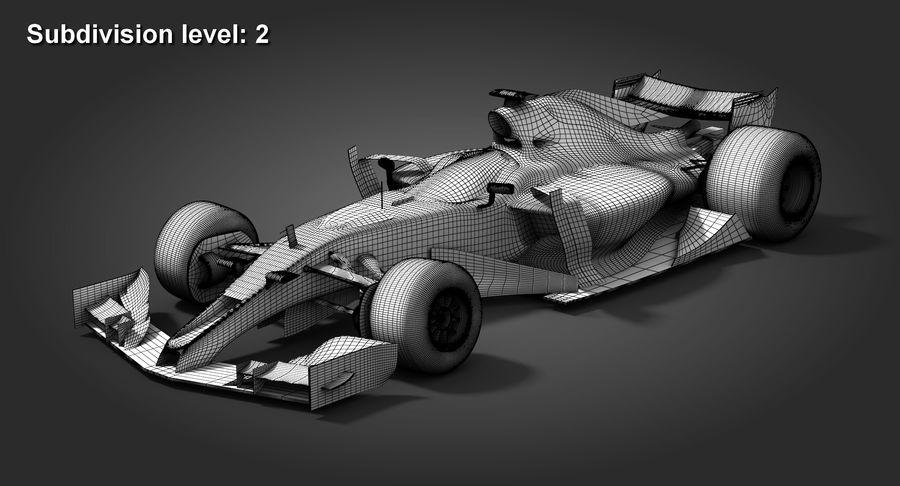 Formula 1 Future Concept royalty-free 3d model - Preview no. 10