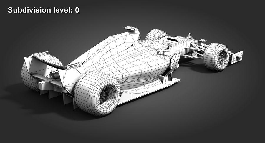 Formula 1 Future Concept royalty-free 3d model - Preview no. 11