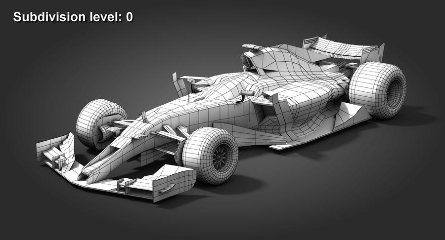 Formula 1 Future Concept royalty-free 3d model - Preview no. 9