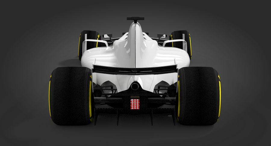 Formula 1 Future Concept royalty-free 3d model - Preview no. 8