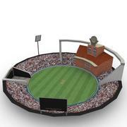 体育场_板球 3d model