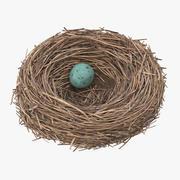 Bird Nest 03 3d model