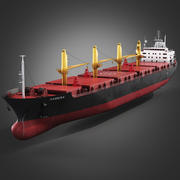 Bulk carrier ship 3d model