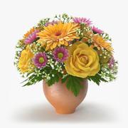 花瓶里的花2 3d model
